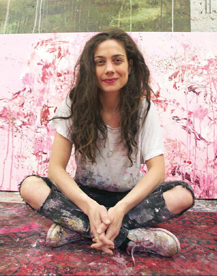 Manuela Bosco kertoo työpajallaan mitä hänen mielestää on flow-tila ja miten hän on sen kokenut.